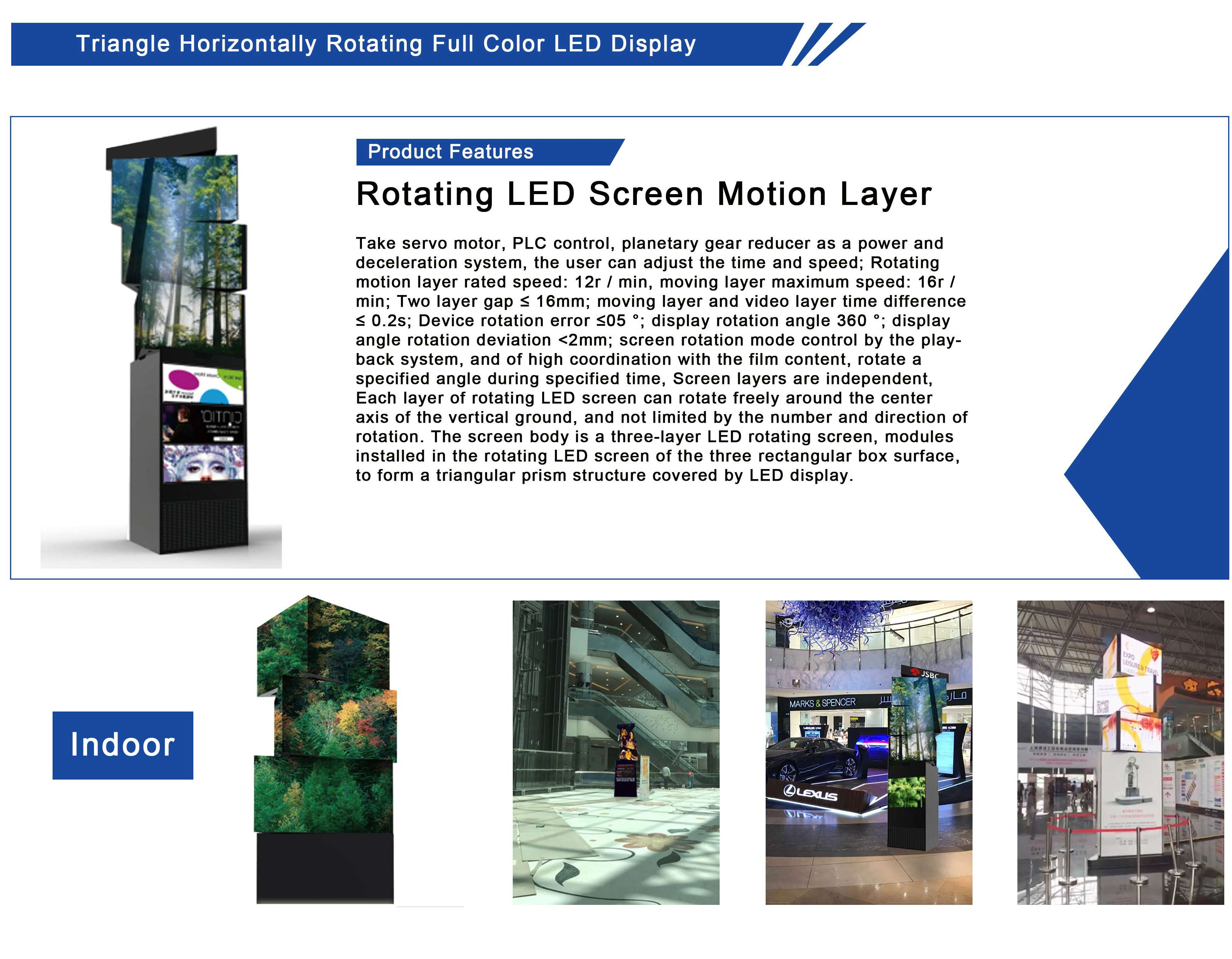Rotating LED Screen Motion Layer